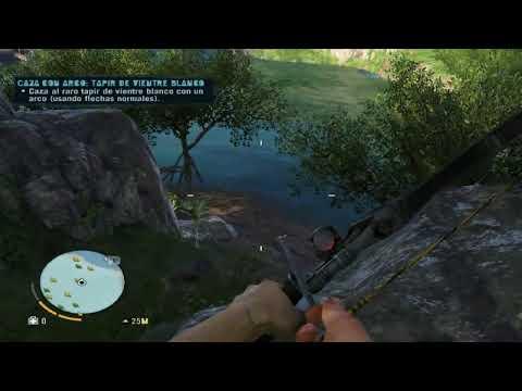 Cazando tapires con el arco! Liberando moar puestos en Far Cry!