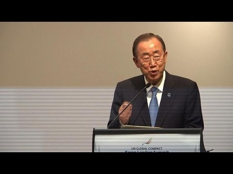 UN chief urges climate change action