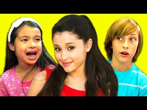 Kids React To Ariana Grande (baby I, The Way) video