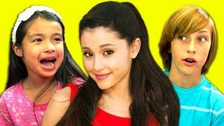 KIDS REACT TO ARIANA GRANDE (BABY I, THE WAY)