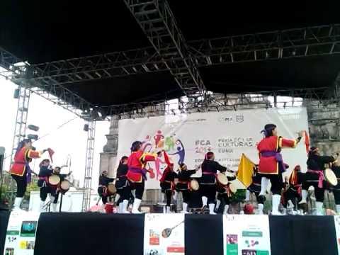 Ryukyukoku Matsuri Daiko Méx. - Feria Culturas Amigas 2014