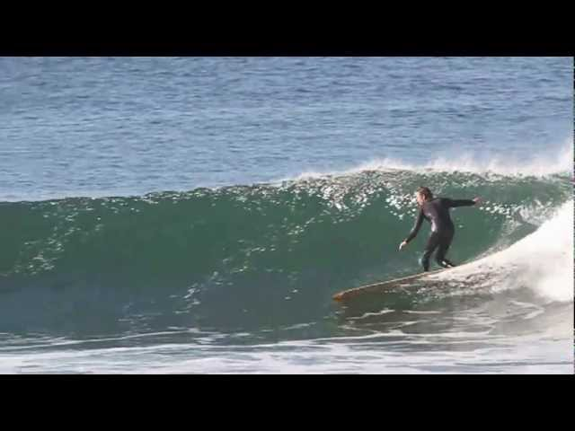 Devon Howard surfing '66 G&S Skip Frye Model