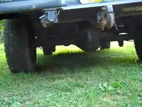 The Difference between a non-limited slip rear end and a posi trac rear end