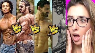 Who Has The Best Body - Hrithik VS John VS Tiger VS Vidyut VS Anoop VS Sahil Reaction