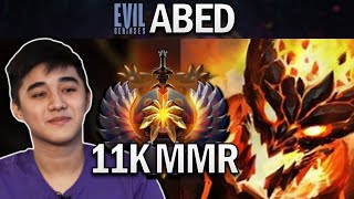 EG.ABED SHADOW FIEND - 11K MMR - DOTA 2 7.26 GAMEPLAY