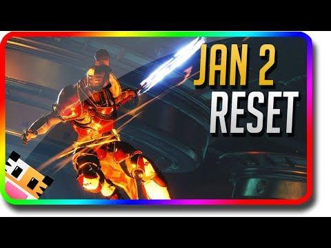 Destiny 2 - Weekly Update January 2 Reset (Jan 2 Dawning Eververse, Weekly Nightfall, Milestones)