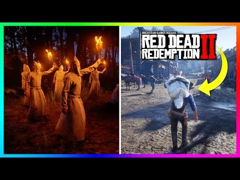 What Happens If You Bring KKK Members Into Town In Red Dead Redemption 2! (RDR2 KKK SECRET Outcome)