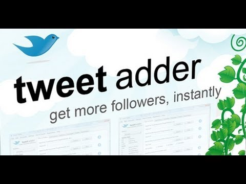 Tweet Adder Review - Free Twitter Followers