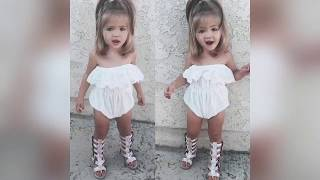 Baby clothes Little Girls Dresses - Little Girls Outfit Idea - Baby Girl Clothes -