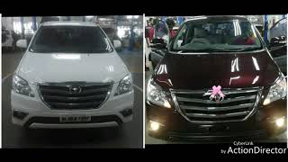 Toyota Innova full body colour conversion