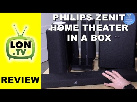 Philips Zenit Cinema Speakers Review - CSS5530B/37 - 5.1 channel out of the box home theater system