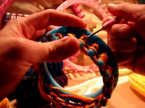 Twisted Knit Stitch Round Loom : Twisted Knit Stitch Loom Knitting Knifty Knitter