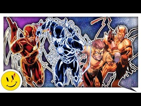 ЦВЕТ МОЛНИИ СПИДСТЕРОВ! Почему у Флэша разные цвета молнии? ✔ (DC Comics)
