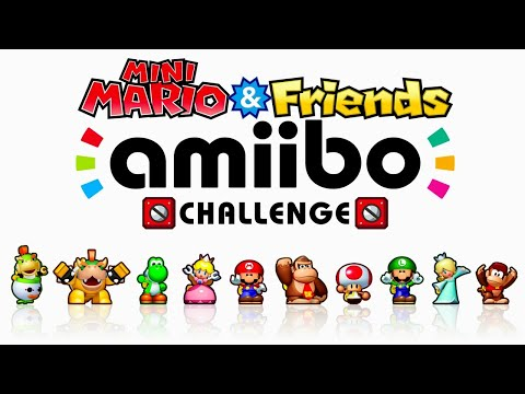 Mini Mario & Friends: amiibo Challenge - Full Game Walkthrough