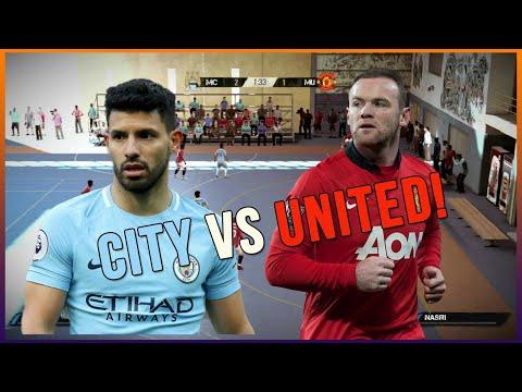 FIFA STREET 4 - FUTSAL MAN CITY VS MAN UTD