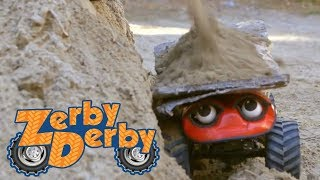 Zerby Derby | THE BIG BUILD | Full Episodes | Kids Cars