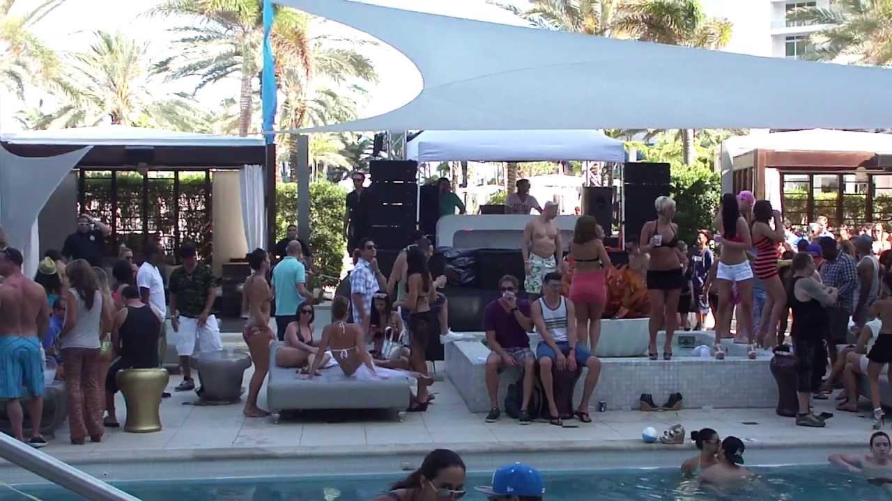 Miami Beach Poolside