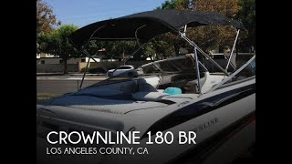 [UNAVAILABLE] Used 2006 Crownline 180 BR in Norwalk, California