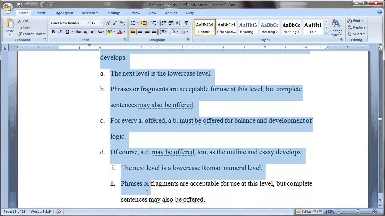 Create An Essay