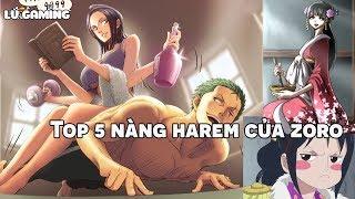 Top 5 Nàng Harem Của Zoro   Người đẹp xứng đáng với Zoro nhất ? Bình Luận Bựa #36