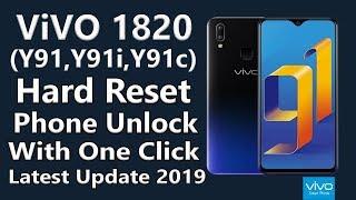 vivo 1820 Y91i Hard Reset Phone Unlock Pattern Unlock