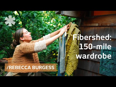 150 mile wardrobe: local fiber, real color, Gandhi economy