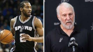 Kawhi Leonard Says NO to Returning to the Spurs, Coach Pop Responds