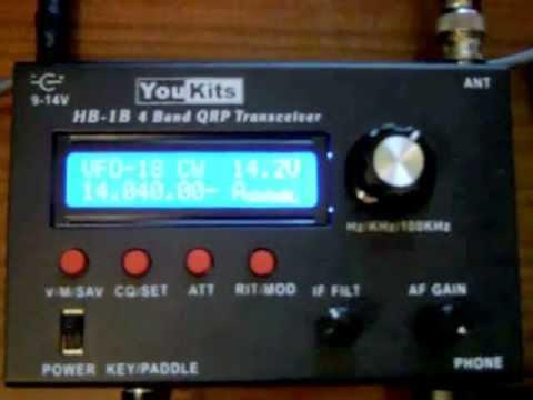YouKits HB-1B (Ten-Tec R4040) QRP Transceiver