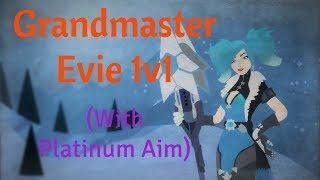 Evie 1v1 vs Huntahh #1