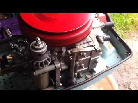 мотор для газонокосилки на лодочном моторе