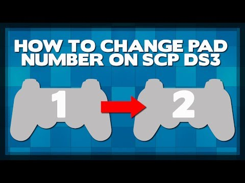 How to Change Pad Number on SCP DS3