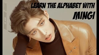 Learn the alphabet with Mingi (ATEEZ)
