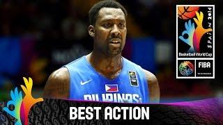 Croatia v Philippines - Best Action - 2014 FIBA Basketball World Cup