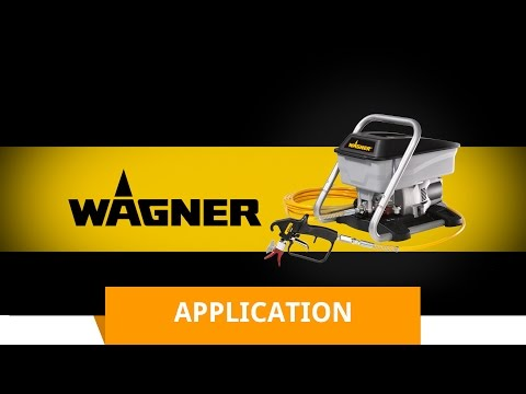 Wagner Airless Sprayer Plus- Introduction