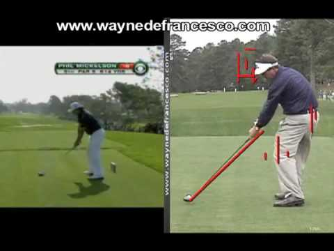 Phil Mickelson Swing Analysis
