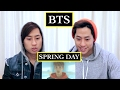 BTS - SPRING DAY MV REACTION 봄날 (TWINS REACT)