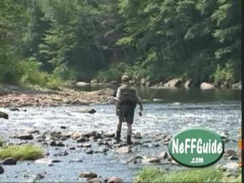 Fly fishing deerfield river summer wade trip part 1 of 2 for Deerfield river fly fishing