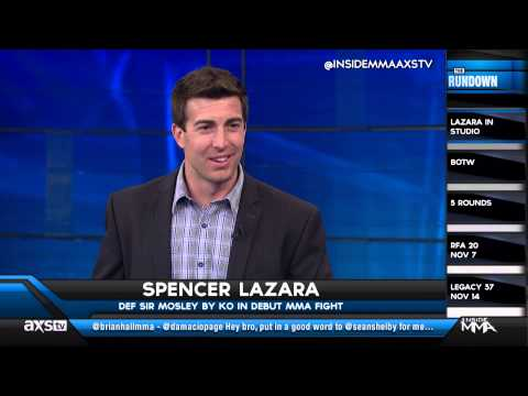 Journalist Spencer Lazara Tells What Its Like to Step Into the Cage