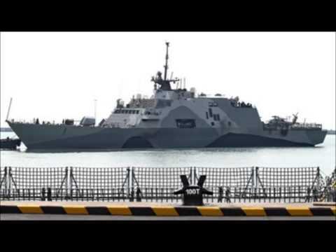 El buque de combate litoral más moderno de EE.UU. está desplegado cerca de Singapur