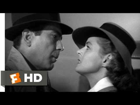 Casablanca Movie Clip - watch all clips http://j.mp/yTvqAI Buy Movie: http://j.mp/t3JhbO click to subscribe http://j.mp/sNDUs5 Rick (Humphrey Bogart) prepare...