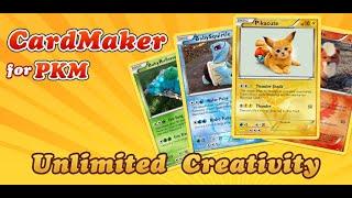 Pokemon Card Maker   create your cute pikachu card
