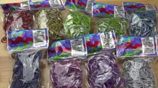 New Medieval Collection RainbowLoom.com Rainbow Loom Bands Review / Overview