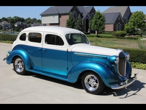 1938 Plymouth Sedan Street Rod Classic Muscle Car For Sale