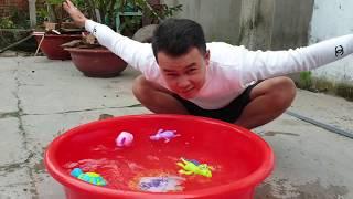 Trò Chơi Con Vật Biết Bơi ❤ ChiChi ToysReview ❤ Đồ Chơi Trẻ Em Kids Fun