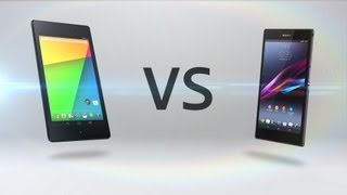 New Nexus 7 (2) Vs. Xperia Z Ultra