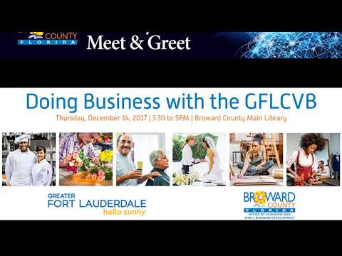 Doing Business with the GFLCVB
