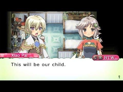 Rune Factory 4 Child Pregnancy & Birth