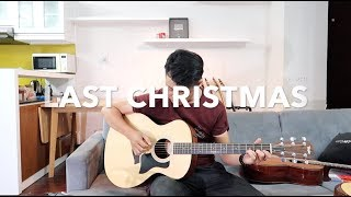 Last Christmas (Wham) Guitar Solo (Fingerstyle) Cover