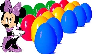 30 Surprise Eggs Киндерино Киндер Сюрприз, Maxi Minions HELLO KITTY Mickey Mouse Cars