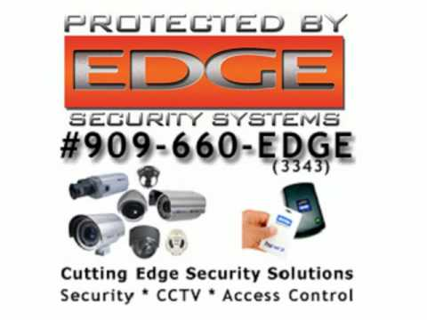 Edge Security Systems - Residential Security, Commercial Security, Industrial Security, California, Inland Empire, security systems, CCTV and Video Surveilla...